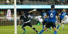 Obafemi Martins, He shoots, he scores!  In the 82nd minute to secure a 1 - 1 tie on the road in San José.