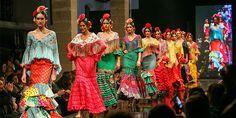 Pasarela Flamenca de Jerez 2016. Flamenca Pol Núñez