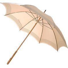FENDI VINTAGE monogram trim umbrella ($105) ❤ liked on Polyvore featuring accessories, umbrellas, umbrella, acessorios, paraguas, monogrammed umbrella, vintage umbrellas, wood handle umbrella, fendi and wooden handle umbrella