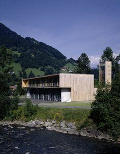 Fire Station and Mountain Rescue Building / Dietrich | Untertrifaller Architekten