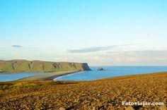 Viagem virtual no sul da Islândia
