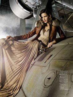 Indiana Jones win...photo shoot with plane