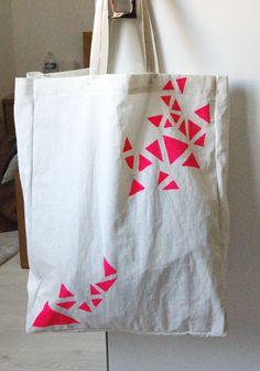 My DIY canvas bag