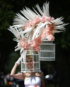 The 'Lady Gaga'. BEST over the TOP Hat! @QueerFMRadioNet Best & WORST of Royal Ascot Hats for the Jubilee! Which is YOUR Fave?