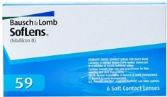 Bausch and Lomb SofLens 59 Contact Lenses 6 Pack
