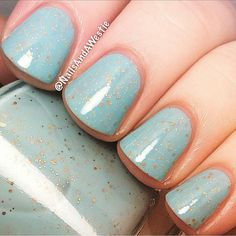 Polish 'M Lady Liberty swatched by @nailsandawestie via Instagram