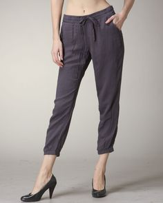 Amy says: These are a great simple grey pant. Comfortable, goes with a lot and chic. Every girl needs a pair in her closet. Grey Pants, Every Girl, Amy, Pairs, Chic, Simple, Closet, Fashion, Gray Slacks