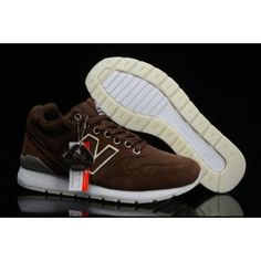 detailed pictures 3b15e 831f8 New Balance 996 MID Noctilucent Brun Hvid Unisexsko