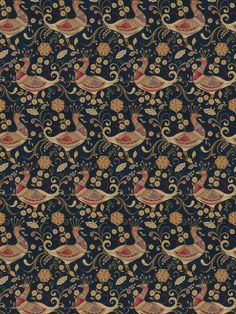 5481401 Aplomb Peacock Navy by Fabricut