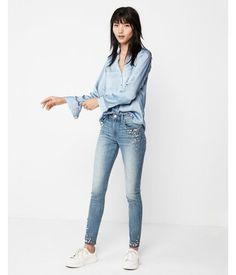 52d3c36e44025 Slim Fit Convertible Sleeve Portofino Shirt Blue Women s XX Small Portofino  Shirt