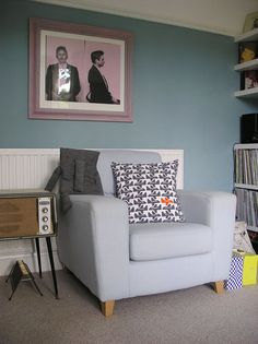 Cushion Plane by Ben Javens Wall Colors, Colours, Cushions, Pillows, Retro Home, Plush Dolls, Color Patterns, Hallway Ideas, Accent Chairs