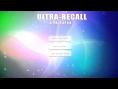 'ULTRA-RECALL' Alpha Study Aid for Focus and Concentration ☯ Alpha Binaural Beats & Iso Tones - YouTube
