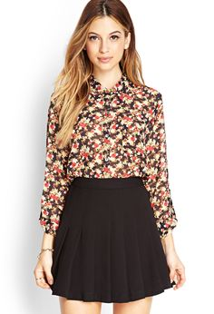 Nature-Inspired Floral Shirt | FOREVER21 #SummerForever