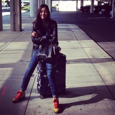Liu Wen on her Supermodel Airport Style - Vogue