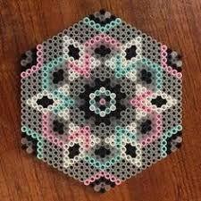 Risultati immagini per mandalas con hama beads