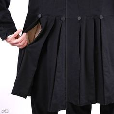 pleat pocket is amazing, what would the other option look like?