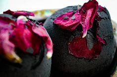 Black Magick Charcoal Eucalyptus Bath Bomb  100% Organic