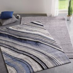 Webteppich in Hellgrau online bestellen Contemporary, Rugs, Home Decor, Woven Rug, Weaving, Ad Home, Grey, Farmhouse Rugs, Interior Design