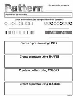 Worksheet Principles Of Design Worksheet nature briefs and design on pinterest this package contains 7 sheets covering the elements of artdesign each as a student version teacher 14 pages total uses the