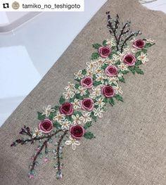 @tamiko_no_teshigoto #needlework #handembroidery #ricamo #embroidery #bordado #broderie