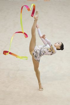 Son Yeon-Jae (born 28 May 1994 in Seoul, South Korea) is a South Korean rhythmic gymnast. She is a member of the South Korean national gymnastics team, based in Taereung, Seoul.[1] She is the 2010 Asian Games bronze medalist.