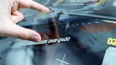 2RISE VENTUZ AIRCRAFT INTERFACE by 2RISE® GmbH, via Behance