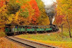 The Cass Scenic Railroad Fall foliage tour