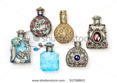 make miniature perfume bottles from beads