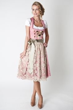 Dirndl-Set (Rose Gold). Don't know if I love it but it intrigues me.