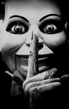 Shhhhh......Billy,the ventriloquist doll... 'Dead Silence', 2007 directed by James Wan~♛