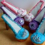 Stiletto Shoes cupcakes for Mothers Day
