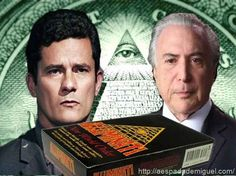 Michel Temer e Sérgio Moro, no jogo de Conspiração illuminati, em relações á carta Brasil ? - Seria o Juiz Sérgio Moro nas cartas Blacklash e TeflonCoasting ?