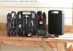 Portable Tool Kit - great gift for Dad!
