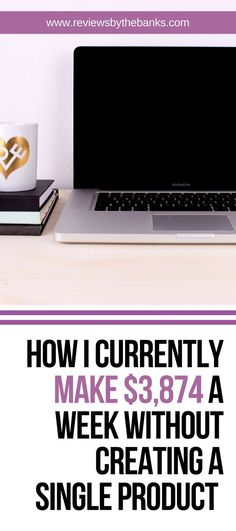 How I Currently Make $3,874 a Week Without Creating a Single Product. Matt McWilliams developed a system is that it doesn't require you to create a product…that's right, you don't have to spend hours upon hours and thousands of dollars creating an online course or other product before you start making money! #makemoneyonline #makemoney #affiliates #affiliatemarketing #online #reviewsbythebanks #blogger #bloggersbesocial #worksmarternotharder #workfromhome #ebook #freebie