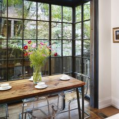 Narrow Dining Table Design Ideas, Pictures, Remodel and Decor