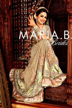 Wedding and casual dresses collection by maria b. pictures