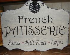 French signs
