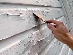Tips and Tricks for Painting a Home's Exterior is part of House painting Tips - DIYNetwork com shares expert tips for painting your home's exterior Exterior Colonial, House Paint Exterior, Exterior House Colors, Exterior Design, Exterior Homes, Diy Painting Exterior Of House, Outdoor House Paint, Best Exterior Paint, Bungalow Exterior