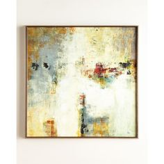 Connectivity Framed Abstract Giclee