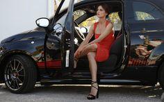 Catrinel Menghia豪華なブルネットのスーパーモデル 車 高解像度で壁紙
