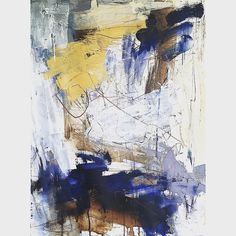 Nancy Hillis. Abstract painting. Abstract expressionism.