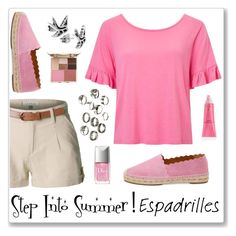 """""""Step Into Summer!"""" by alara-cary ❤ liked on Polyvore featuring Chloé, LE3NO, Miss Selfridge, Stila and Christian Dior"""