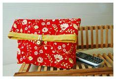 cherry red clutch $18.00 #brigteam