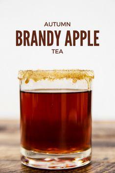 Autumn Brandy Apple Tea Drink Recipe