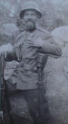 Austro-Hungarian soldier, 1917