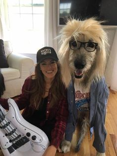 Woman And Her Dog Slay Halloween With Most Excellent 'Wayne's World' Costumes | Huffington Post