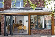 idée agrandissement maison moderne extensions design