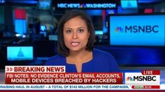 "Idiots!  Along with the FBI doing its part for the Clinton campaign by dumping on the Friday afternoon of Labor Day weekend its notes from their interview of Hillary Clinton concerning her e-mail scandal, MSNBC swept some of the most disturbing elements under the rug in its first two segments on it and concluded that they've helped them see ""a little bit better why Director Comey"" didn't recommend charges."