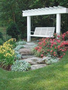 Cool 55 Fresh Modern Backyard Landscaping Design Ideas. # #BackyardLandscapingDesignIdeas #ModernBackyardLandscaping #ModernLandscaping