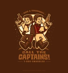 Call the Captains! Star Wars Firefly Mashup (I want this on a t-shirt!)